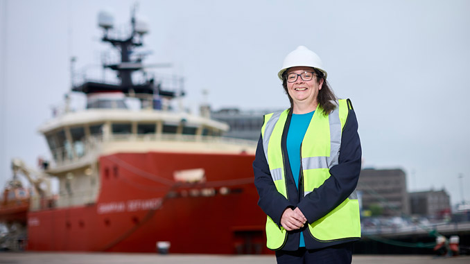 Michelle Fowler now heads up the QHSE team at North Star Shipping, the operator of one of Britain's largest fleet of ships serving the energy industry