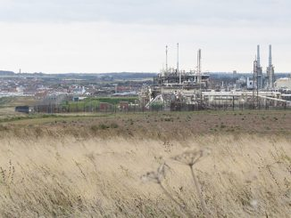 The Bacton Gas terminal, in Norfolk, has been part of the UK's energy backbone for more than 50 years