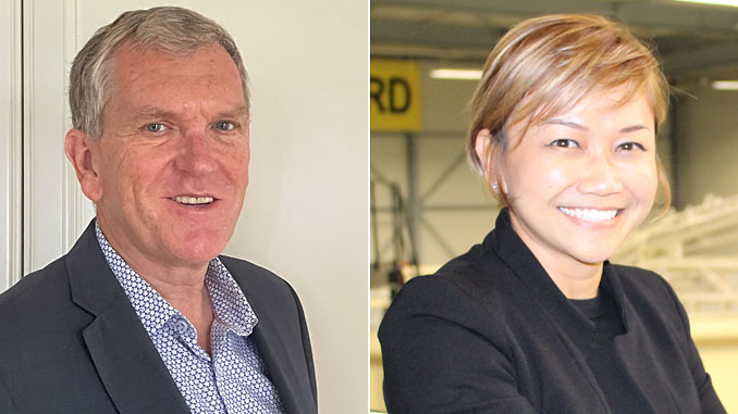 Robby O'Sullivan and June Othman to support Strohm's plans for expansion in Asia Pacific