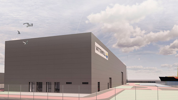Vattenfall's Port of Esbjerg warehouse will serve wind farms in Great Britain, Scandinavia and Northern Europe when ready in 2022