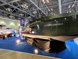 Powered by a Danfoss Editron electric drivetrain and sub-system, the 'Hydrogenia' – unveiled at the 2021 Busan International Boat Show – is South Korea's first commercialised hydrogen electric boat