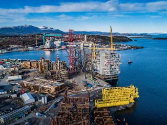 Decommissioning at Stord (photo: Aker Solutions)