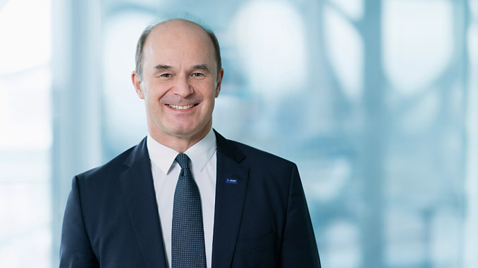 Chairman of the Board of Executive Directors of BASF SE, Dr Martin Brudermüller