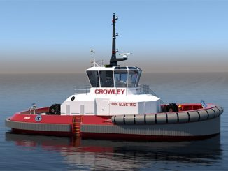 Crowley Maritime Corporation's fully electric 'eWolf' tug