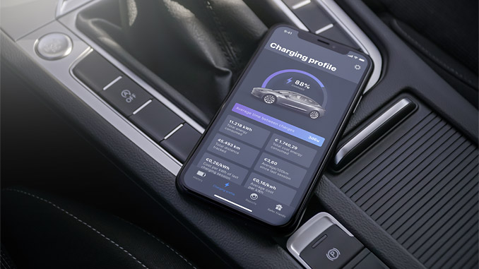 The EEVEE Driver app provides a holistic overview of their total charging costs all in one place