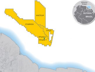 Whiptail-1 and -2: Significant new oil discoveries located southeast of Uaru and west of Yellowtail