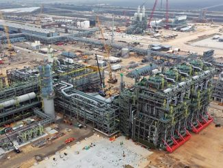 Gulf Coast Growth Ventures: Year-end project completion expected to be under budget and ahead of schedule