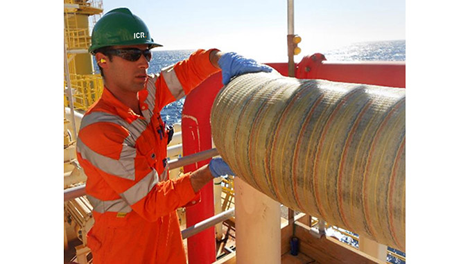Offshore application of ICR's Technowrap™