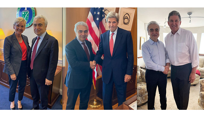 Meetings with US Energy Secretary, Special Presidential Climate Envoy, World Bank President, prominent Senators and other senior figures underscore need for greater international cooperation