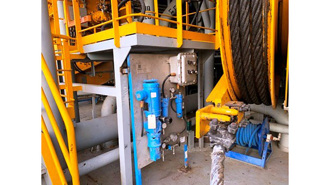 Assembly and installation of all 64 filter carts for a drilling contractor's subsea tensioner equipment