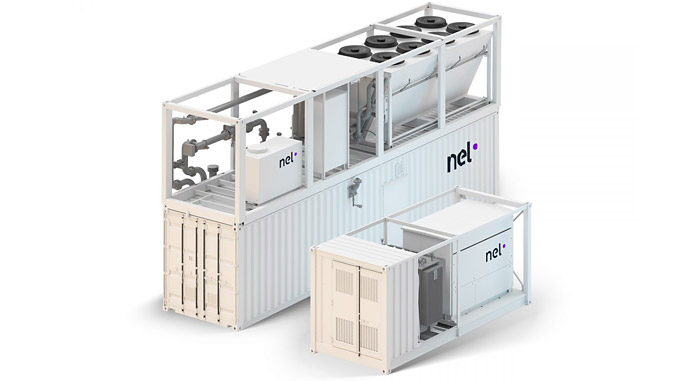 Nel's M Series PEM Technology makes for a reliable and turnkey solution with minimal maintenance – typical applications include renewable energy storage, industrial process gas, and hydrogen fuelling