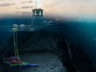 Duva is located 14 kilometres northeast of the Gjøa field and the subsea template is tied into existing subsea infrastructure on Gjøa