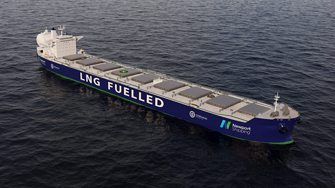 The use of a dual-fuel LNG engine can provide a commercially robust solution compared with alternative fuel technologies