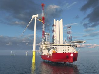 The new OHT wind turbine installation vessel will operate with a broad scope of Wärtsilä solutions delivering high performance DP