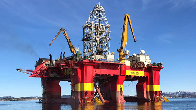 'Stena Don' is a harsh environment semi-submersible rig suitable for drilling, completion and workover operations
