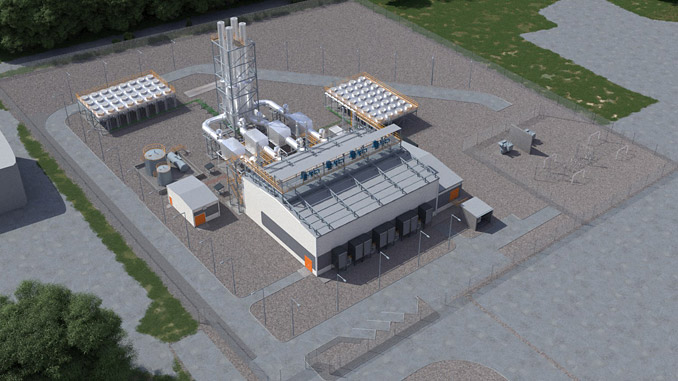 The plant in Gorizia is one of the six power plants which Wärtsilä will deliver to Italian Metaenergiaproduzione S.R.L – the total combined output of the plants is 380 MW