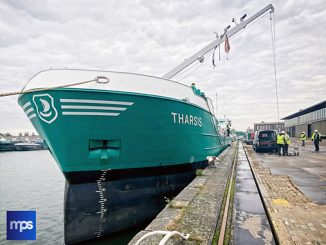The general cargo vessel 'M/V Tharsis' with FluidicAL technology onboard