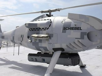 Fugro RAMMS on board a Schiebel CAMCOPTER® S-100 uncrewed aerial system