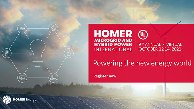 Join the Hybrid Power Revolution: Conference sessions are complimentary to attend and presented online on Oct. 12-14, 2021