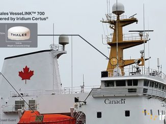 The Canadian Coast Guard has deployed weather-resilient Iridium Certus technology, featuring the Thales VesseLINK 700, on its vessels, including icebreakers