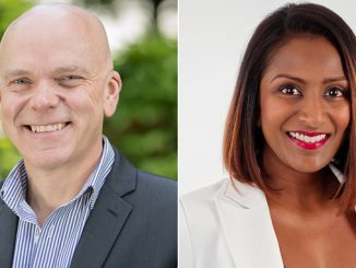 Mark Bell, General Manager, SGMF, and Banu Kannu, Membership & Engagement Manager – APAC, SGMF