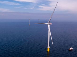 Vattenfall's newest and to date largest offshore wind farm, Kriegers Flak