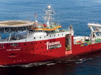 'Fugro Aquarius' – electric propulsion arrangement that reduces noise and carbon emissions, along with a redundant, dynamic positioning system that keeps the ship steady under a wide range of sea and wind conditions