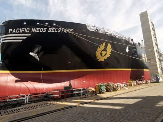 'Pacific Ineos Belstaff': World's first IMO Type B very large ethane carrier