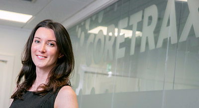 Lyndsay Harley, Coretrax group sales and marketing manager