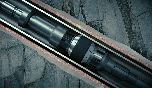 Figure 2. The CX-SV cement retainer features an integrated setting tools and stinger, optimising cement operations