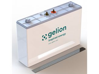 Gelion's breakthrough non-flow zinc-bromide battery is an affordable, safe, recyclable alternative to lithium-ion, making it a reliable energy source for a range of applications (photo: Gelion)