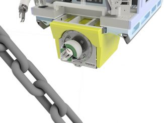 Pacu™ is designed to be attached to mooring chains