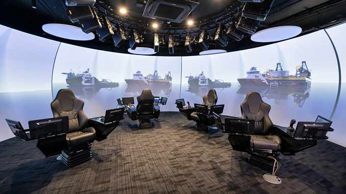 The simulation suite is located at the National Decommissioning Centre (NDC), a global research and development hub based in Newburgh, Aberdeenshire