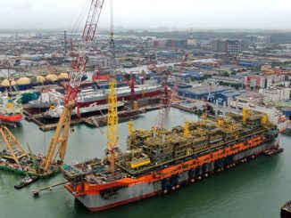 'Liza Unity' is the second in a series of three FPSOs for the Stabroek block offshore Guyana
