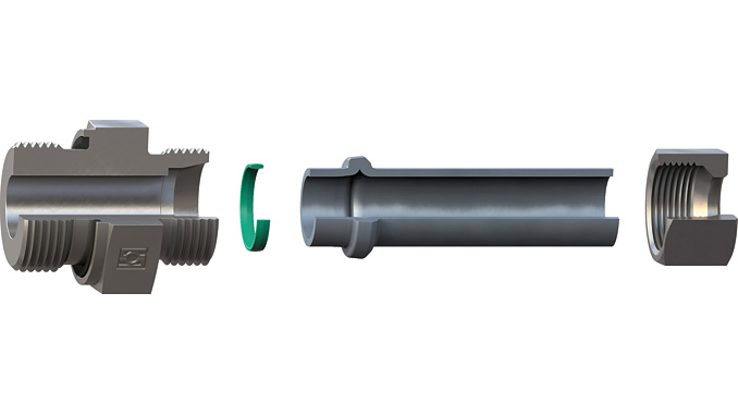 The STAUFF Form EVO tube forming system is completely based on standard components and is now available with a cost-effective Viton® seal