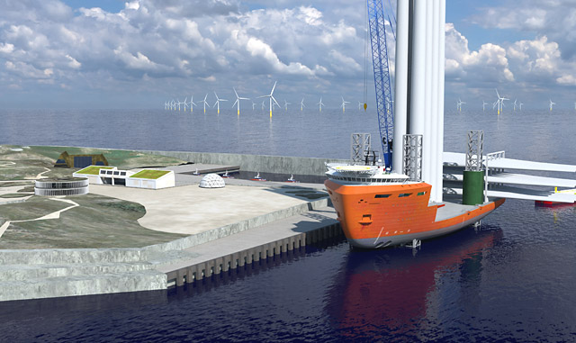 The world's first energy island will provide green offshore wind power to more than 10 million homes in Northern Europe