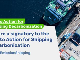 Wärtsilä is a signatory to the Call to Action for Shipping Decarbonization initiative launched in conjunction with the UN General Assembly on 22 September