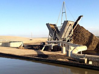 California's largest – double-lined lagoon digester
