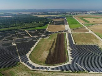 The Athies-Samoussy complex is the largest solar farm in the Hauts-de-France region and one of the ten largest in France