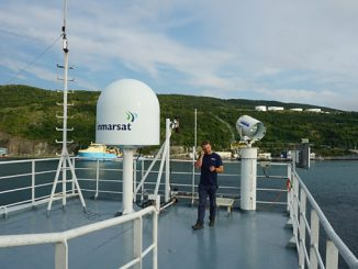 The OceanGate Expeditions' 2021 Titanic Survey Expedition was connected by Inmarsat's critical satellite communications