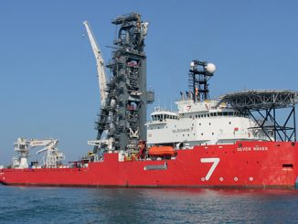 Subsea 7 pipelay support vessel 'Seven Waves'