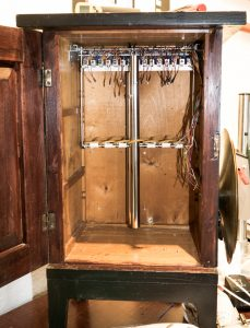 EnsembleBot overview - Master cupboard under construction