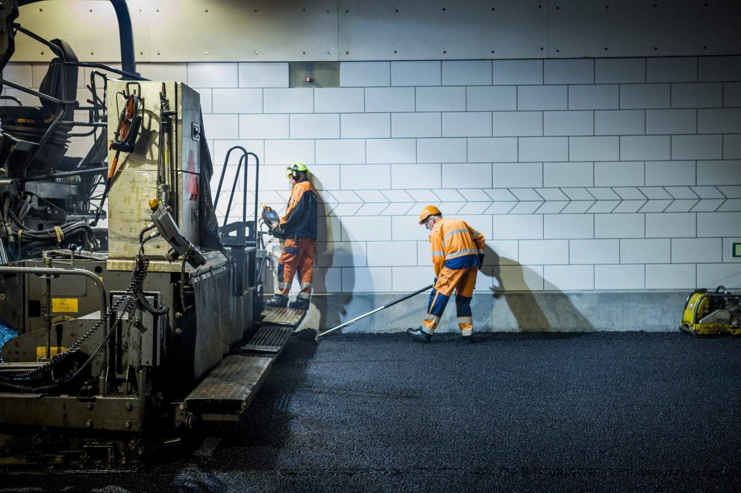Erhvervsfotografering, byggepladsfotografering, billeder fra anlægsprojekter og byggepladser.