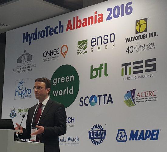 3rd HydroTech Albania Conference and Exhibition, Tirana, Organise by Green World Conferences, on 22-23 February 2017 in Tirana International Hotel, Tirana, Albania