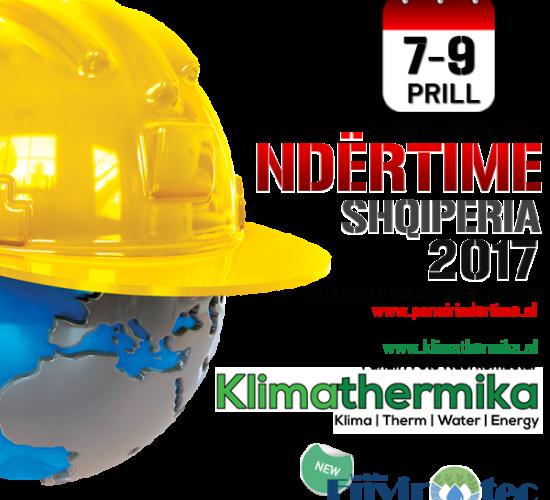Panairi i 6të Ndërkombëtar Constructions Ndërtime & 3të Klimathermika, 7-9 Prill 2017, Pallati I Kongreseve