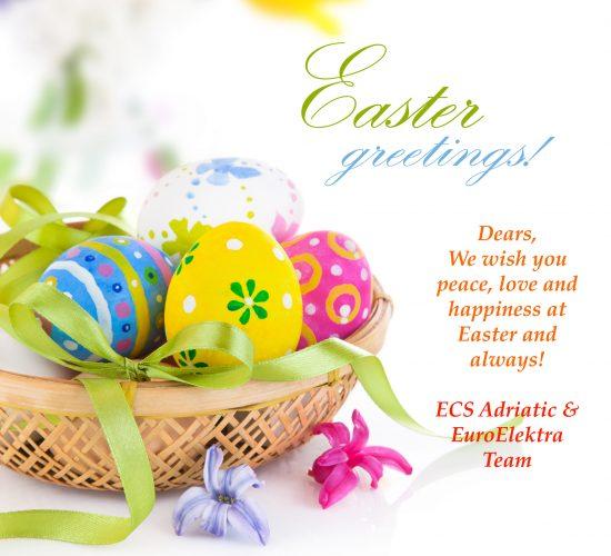 ECS Adriatic & EuroElektra Happy Easter Greetings 2017!