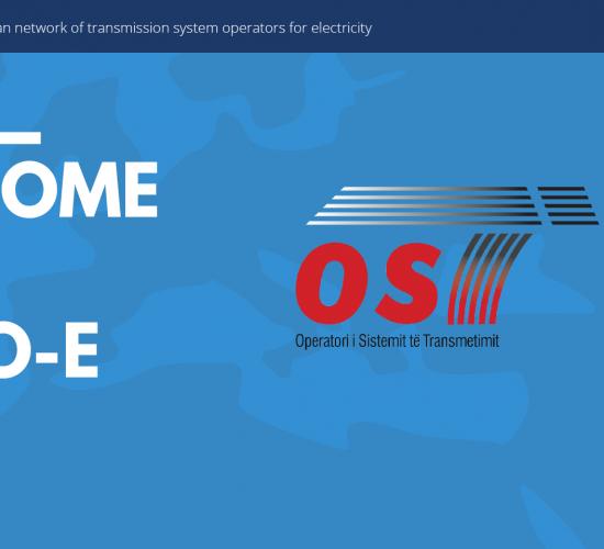 OST sh.a. antarësohet me të drejta të plota në ENTSO-E, OST, 31/03/2017