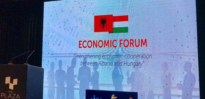Economic Forum Albania – Hungary take place in Tirana, Aida, 10 April 2017