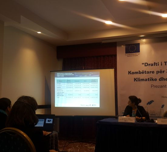Albania plans investments to mitigate climate change