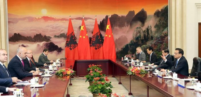 Albania – China, a positive climate for more economic cooperation, PM office, 17 April 2017